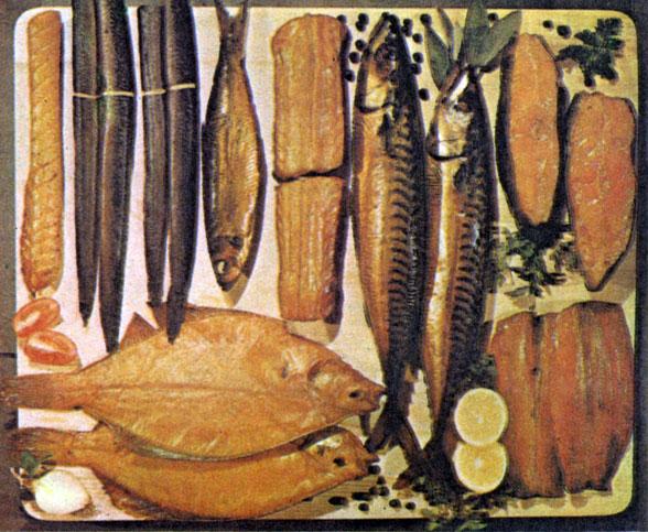 фото рыбы копченой